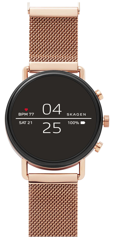 Skagen Falster 2 gen 4 smart watch cinturino in oro rosa SKT5103