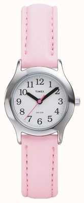 Timex Donne / bambini rosa orologio cinturino T79081