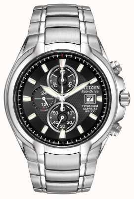 Citizen titanio Mens Eco-Drive CA0260-52E