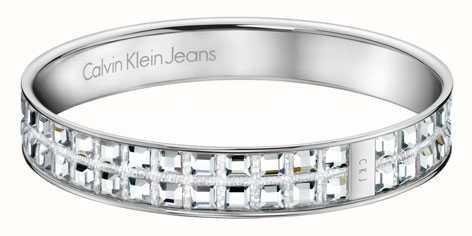 Calvin Klein Le signore di cristallo set bangle KJ37AB01050M