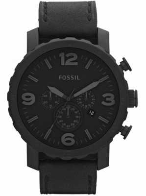 Fossil Uomo nero cronografo x-large watch JR1354