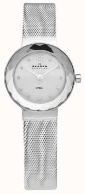 Skagen Signore d'acciaio orologio da polso maglia 456SSS