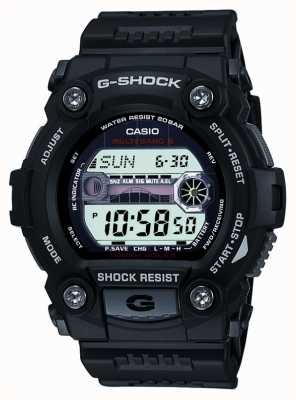 Casio Mens del cronografo digitale nero g-shock GW-7900-1ER