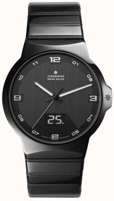 Junghans Forza signori cassa dell'orologio in ceramica 018/1132.44