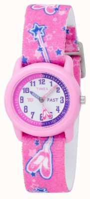 Orologio bambina Timex rosa Ballerina analogico cinturino T7B151