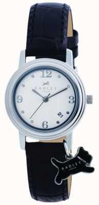 Radley orologio cinturino in pelle nera Darlington RY2007