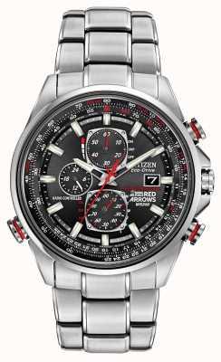 Citizen Frecce rosse di Gent a D9 cronografo orologio Eco-Drive AT8060-50E
