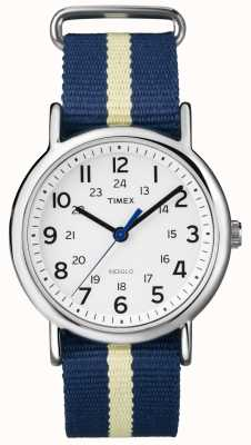 Timex Unisex orologio weekender INDIGLO T2P142