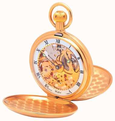 Woodford orologio da tasca coperchio Doppia 1014