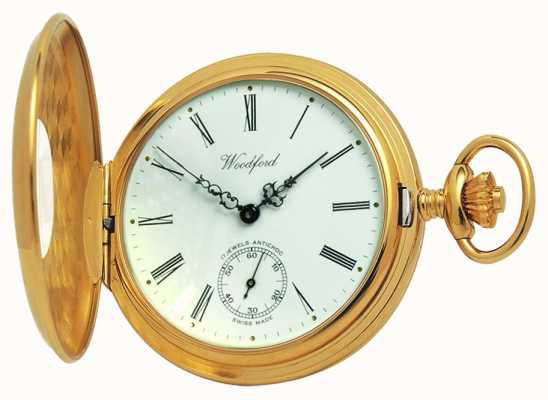 Woodford 1/2 cacciatore pocketwatch 1015