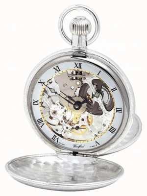 Woodford | scheletro cacciatore | doppio coperchio | argento | orologio da tasca | 1003