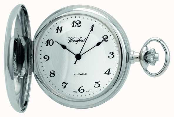 Woodford | cacciatore pieno | cromato | orologio da tasca | 1027