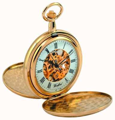 Woodford orologio da tasca cacciatore completa 1038