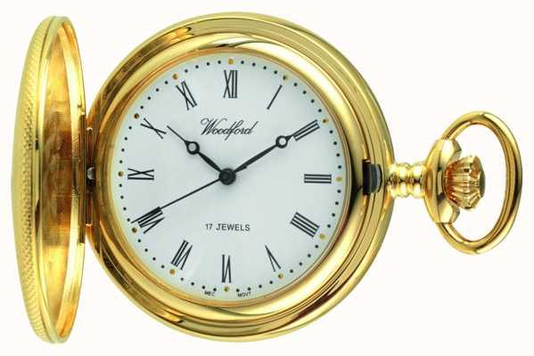 Woodford Mens orologio da tasca meccanico 1056
