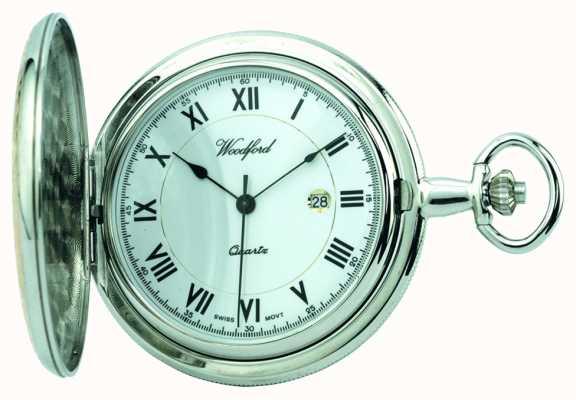 Woodford Mens orologio da tasca piena cacciatore 1218