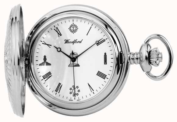 Woodford orologio da tasca massonica 1227