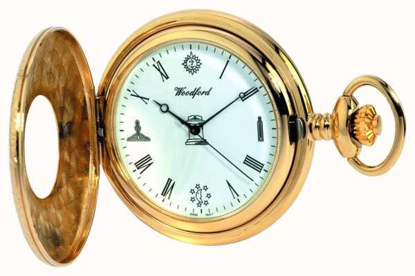 Woodford Mens metà cacciatore orologio da tasca 1213