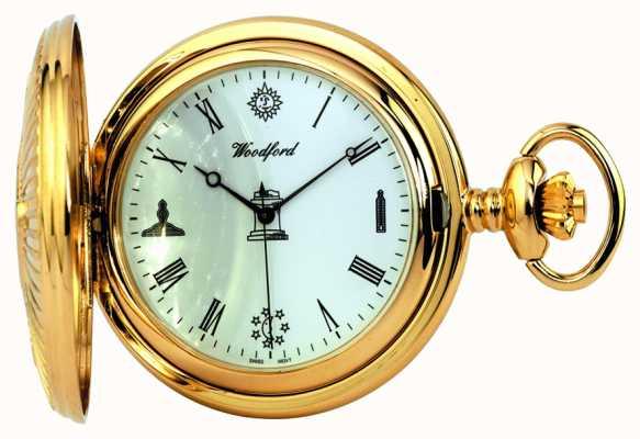 Woodford orologio da tasca massonica 1214
