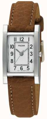 Pulsar donna acciaio inox, Abbronzatura cinturino pelle PC3163X1 orologio