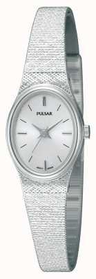 Pulsar donna acciaio inox, cinturino in maglia, ovale PK3031X1 orologio