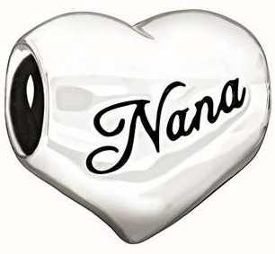 """Chamilia Argento Sterling - """"i love nana"""" 2010-3131"""