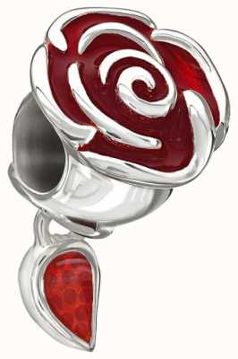 Chamilia Disney - Belle rose incantato - smalto rosso 2020-0707