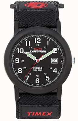 Timex Orologio da polso uomo nero per camper T40011