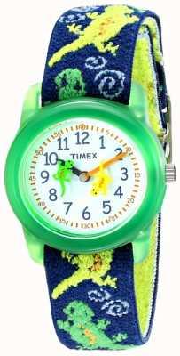 Timex Orologio da bambino con cinturino in tessuto elasticizzato gechi T72881