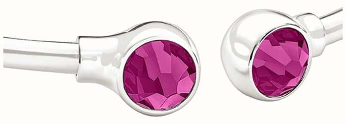 Chamilia Crystal Bangle accenti - fucsia swarovski 1025-0003