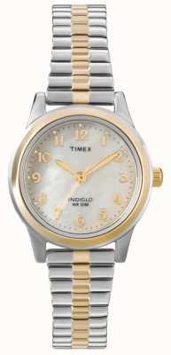 Timex Vestito da donna a due tonalità di espansione del vestito T2M828