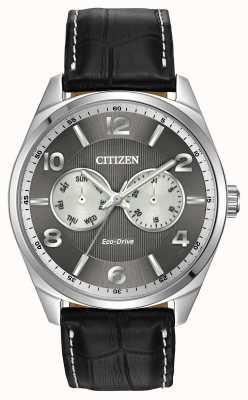 Citizen Mens Watch quadrante grigio acciaio inossidabile AO9020-17H