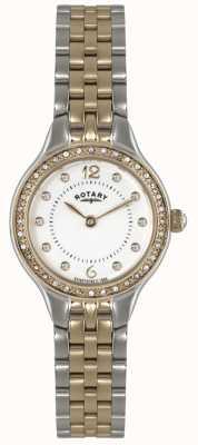 Rotary Onorevoli dorati oro quarzo analogico LB02868/01