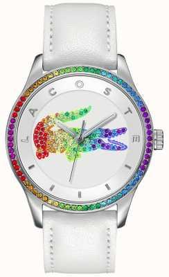 Lacoste Victoria multicolore orologio bianco 2000822