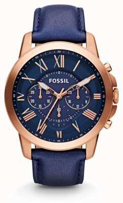 Fossil Mens concedono Cronografo marina FS4835