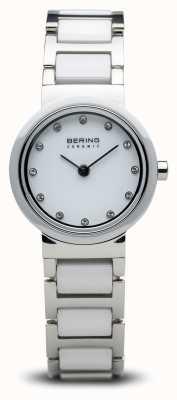 Bering Orologio in ceramica bicolore minimalista 10725-754