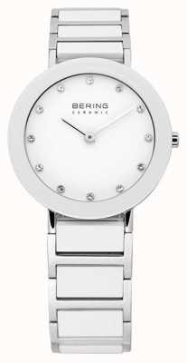 Bering Ceramica e bracciale in metallo orologio 11429-754