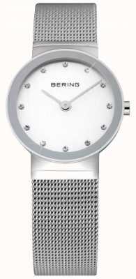 Bering Orologio da donna Time | cinturino in maglia di acciaio inossidabile argento | 10126-000
