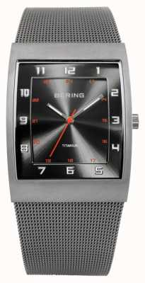Bering Gents inossidabile quarzo analogico 11233-077