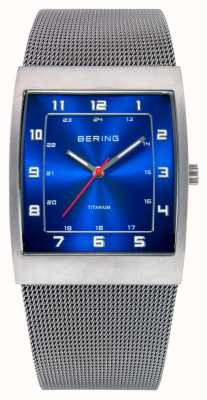 Bering Gents inossidabile quarzo analogico 11233-078