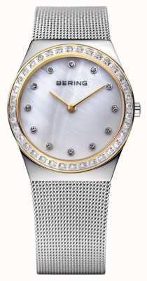 Bering Pietre incrostate ultra sottile orologio 12430-010