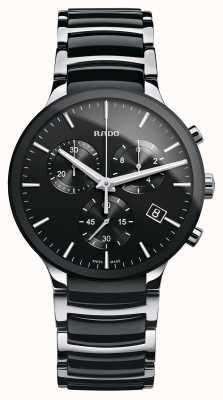 Rado Cronografo Centrix con cinturino in ceramica nera R30130152