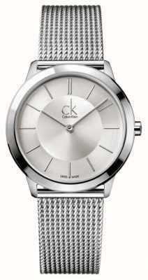 Calvin Klein Raccolta minima | cinturino in maglia di acciaio inossidabile K3M22126