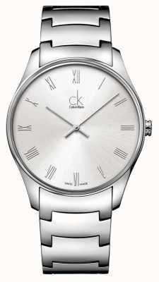 Calvin Klein Mens classico orologio d'argento K4D2114Z
