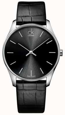 Calvin Klein Mens classico orologio nero K4D211C1