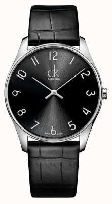 Calvin Klein uomo orologio in pelle Classic K4D211CX