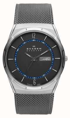 Skagen Mens aktiv grigio orologio in titanio maglia SKW6078