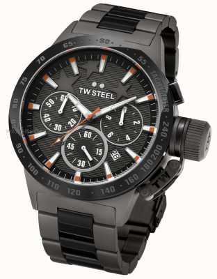 TW Steel Michel mensa mens cronografo nero TW0313