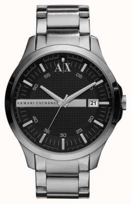 Armani Exchange Uomo intelligente orologio tono argento AX2103