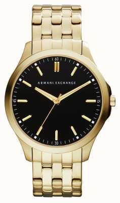 Armani Exchange Mens Hampton orologio a basso profilo AX2145