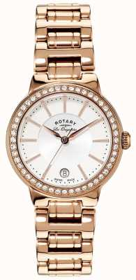 Rotary Onorevoli les originales, targa d'oro, orologio set di cristallo LB90085/02L